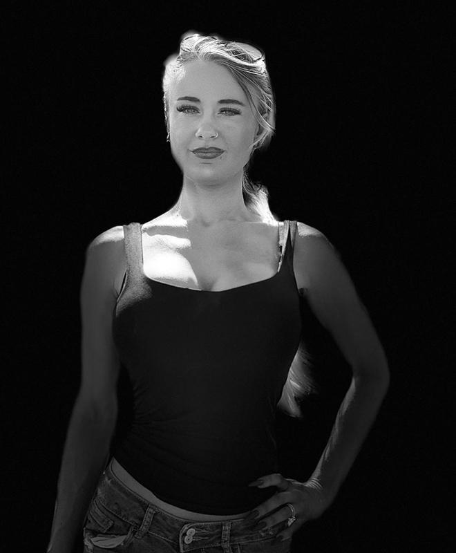 IRiS Wallner schwarz-weiß